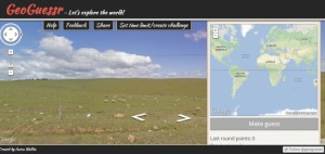 Screenshot: GeoGuessr